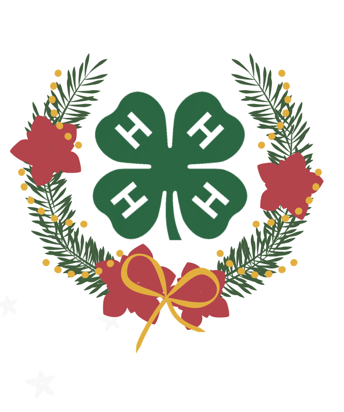 4-H Christmas wreath